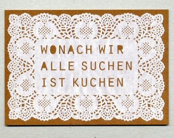 Post card for Kuchenliebhaber_innen