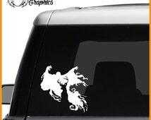 Dementor Patronus Vinyl Vehicle Decal