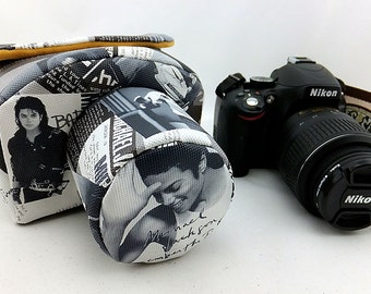 camera bag Personalized Camera Cases Embroidered DSLR Nikon, Sony, Canon  Custom Photography Gift