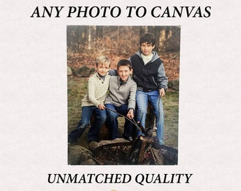 Custom Canvas -- Any Photo to Any Size Canvas