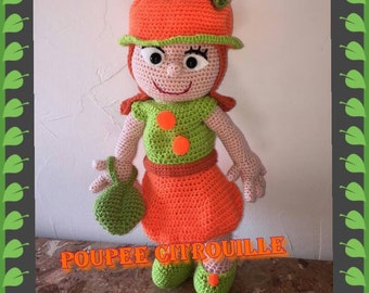 french pumpkin anyta doll tutorial