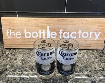 Set of 2- Corona glasses