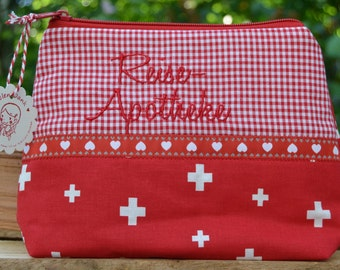 Large first aid kit make-up bag XL