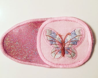 Eye patches with butterfly