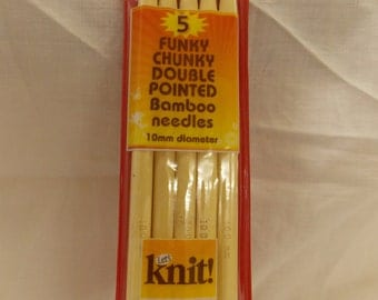 chunky bamboo knitting needles