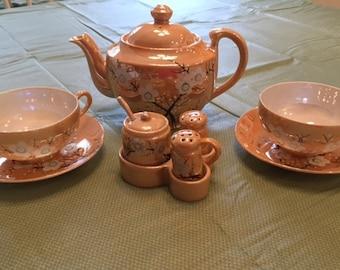Japanese Luster Ware Tea Set