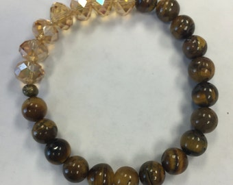 Cats Eye Crystal Bracelet
