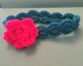 Crochet  baby headband many sizes available