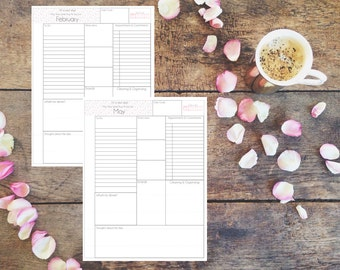 Custom Planner Pages, Flamingo Planner Pages, PDF, Daily View, Flamingo, Personal Planner, Planner, Planner Addict