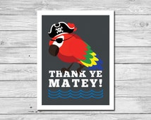Ahoy, Matey Thank You Note Card
