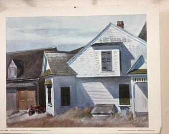 House on Pamet River, Cape Cod, 1934 by Edward Hopper.