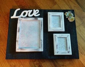 Love- Picture frame board