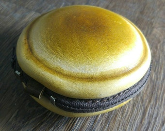 ACL-Studio Leather Coin Purse (DORAYAKI STYLE)