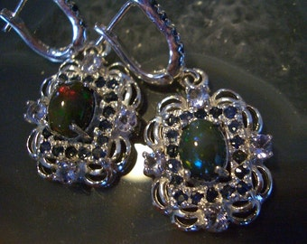 popular items for opal sapphire on etsy