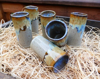Ceramic tumblers,Hand made Ceramic tumbler,Ceramic Cup,Pottery Water Glass,Mother Days Gift,Christmas Gift