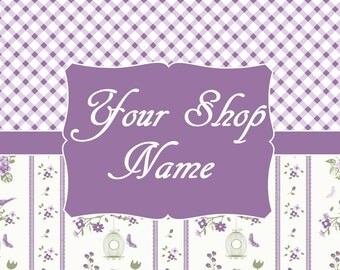 Premade Banner Set, Shop Banner Set, Custom Banner, Graphic Design, Shop Banner, Banner Design, Cover Photo, Digital Graphics,