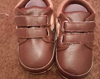 Baby burberry shoes size 12-18 months replica