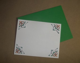 Tea Bag Folding Note Cards