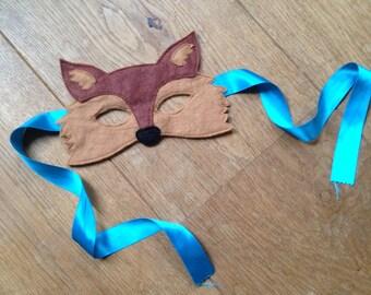 Wool felt FOX mask