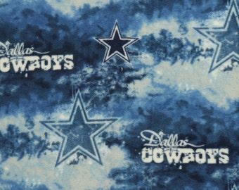 NFL Dallas Cowboys Fleece V4 Fabric by the yard