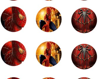 Spiderman Edible Images