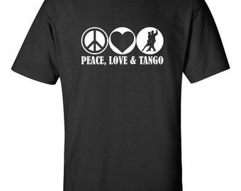 Peace, Love and Tango T-shirt