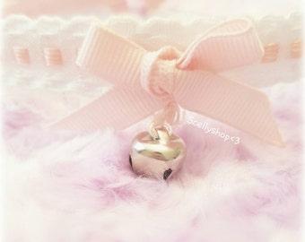 Pink Kitten Choker