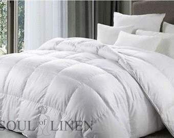 """Environmentally Friendly, Suitable For All Four Seasons of 15 percent Duck Down / 8percent Feather Duvet """"Aurika"""""""