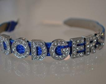 Silver Bling Bracelet - Dodgers