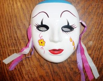 Ceramic Decorative Mask
