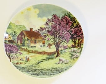 Country Heritage Limited Edition Series, 1982, 'Spring' Collectors Plate No. 2079