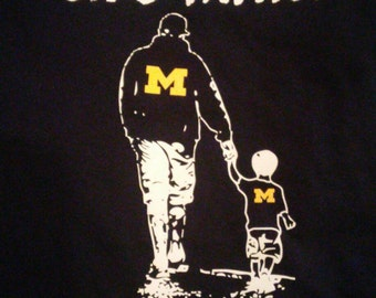 Like Father Like Son Block M Tshirts
