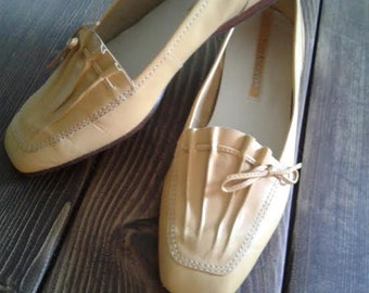 Dandelion Yellow Loafers by Enzo Angiolini