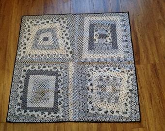 Baby quilt, infant quilt, toddler quilt, blanket