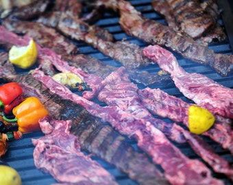 Horizontal Argentine Parrilla BBQ