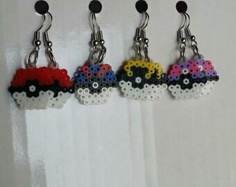 poke earrings