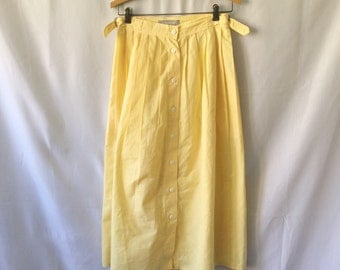 "Vintage ""Jordache"" high-waisted skirt"
