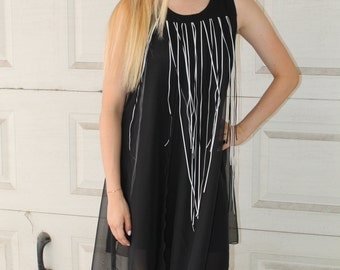 Macrame flowy dress