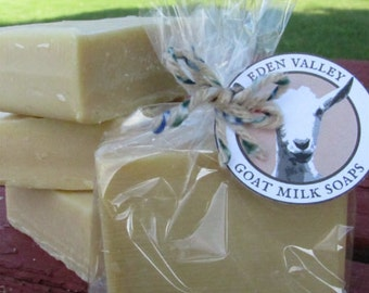 All Natural Unscented Goat Milk Soap 4 oz.