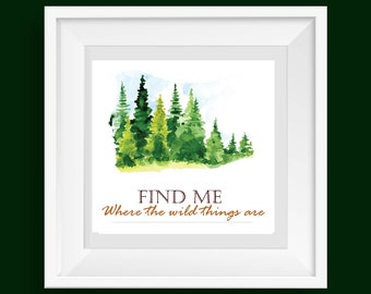 Where The Wild Things Are Wall Decor