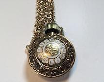 Vintage Avon Bronze Perfume Necklace