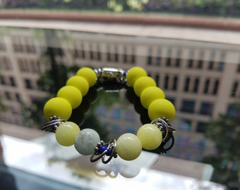 Best of Both 1 (yellow matte/yellow and teal jade/silver)