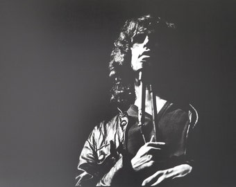 Jim Morrison print - The Doors - Hunter College NYC - original vintage concert poster - collectible offset lithograph - 1989