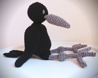 Raven amigurumi Etsy