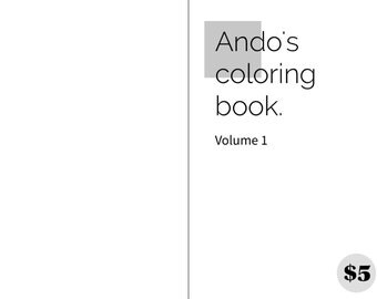 Andos coloring book vol. 1