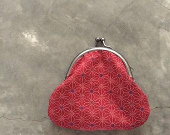Kiss Lock Purse - Red