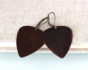 PICK plectrum earrings