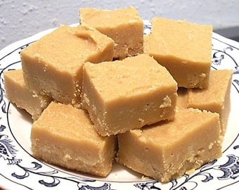 Peanut Butter Fudge, Peanut Butter, Creamy Fudge, Nut Fudge, Homemade Fudge, Homemade Confectionery, Fudge gift, Sweet gift, Fudge Candy