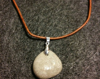 Natural Fossil Necklace