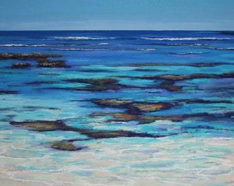 Fine Art Print - Aqua Reef